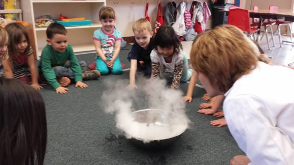 Dry ice discovery in the Star Room