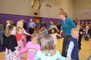 Dancing with Mrs. Van Wormer