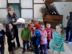 Mrs. Monier's Owls and their soap cloud