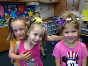 The Owl Teachers on Crazy Hair Day
