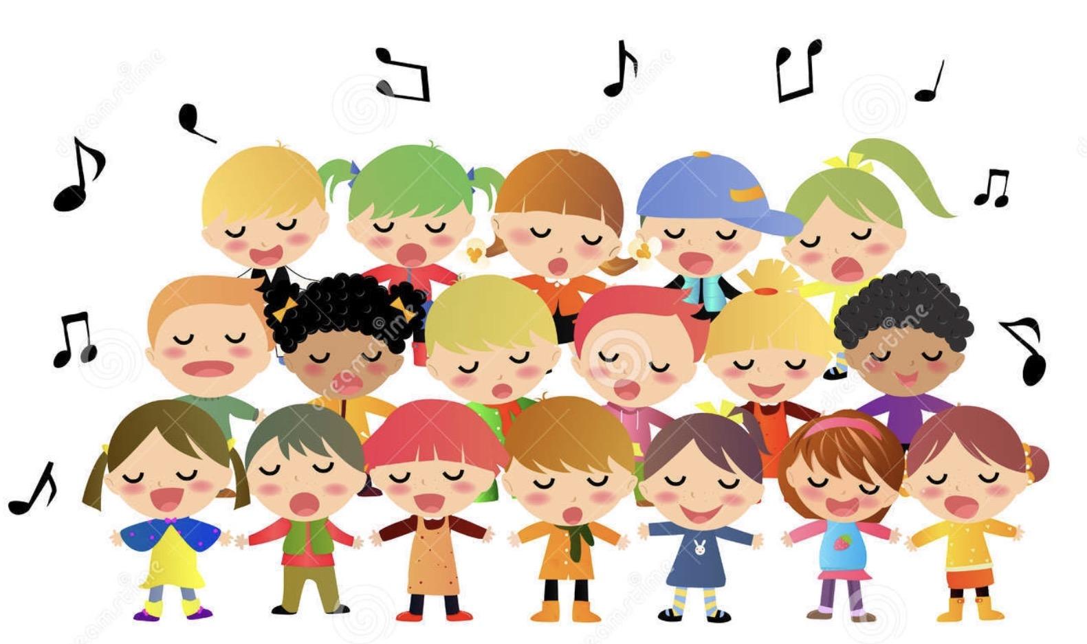 Kids Singing Clipart SPRING SING & P...